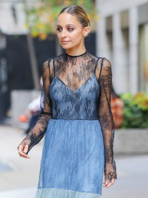 Nicole Richie Told Us the #1 Outfit to Wear With Flats