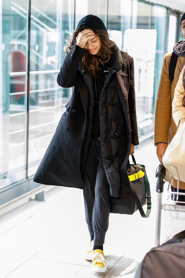 On Zendaya: BurberryMedium Leather Belt Bag ($2290)