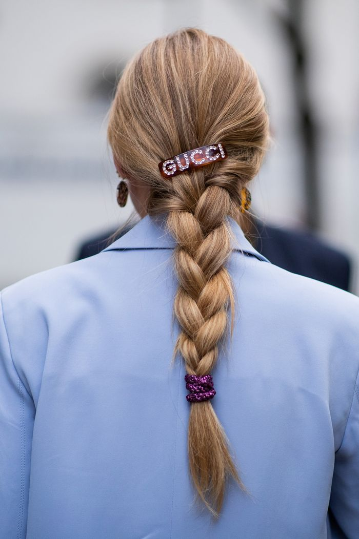 Best hair clips: Ashley Williams Gucci slide
