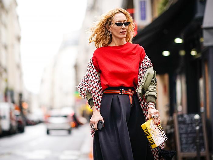 small sunglasses street style