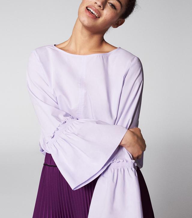 Violeta by Mango Flared Sleeve Blouse