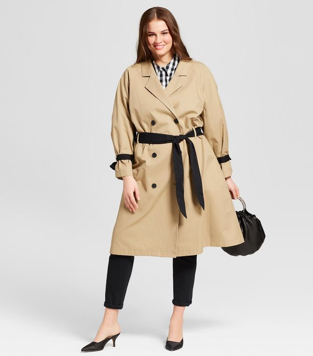 Who What Wear Modern Trench Coat