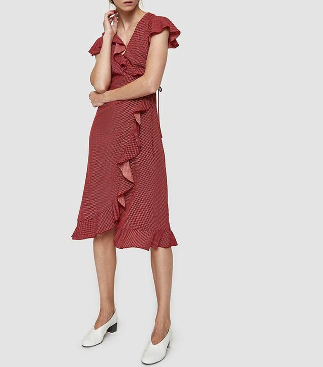Farrow Sam Dress in Red