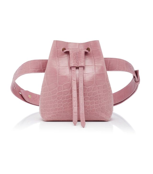 Nanushka Minee Bucket Belt Bag