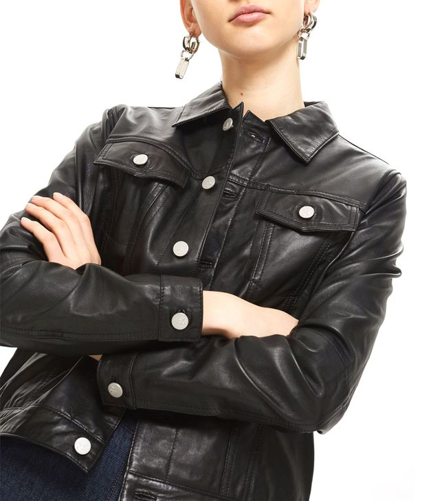 Leather Jacket by Calvin Klein Jeans