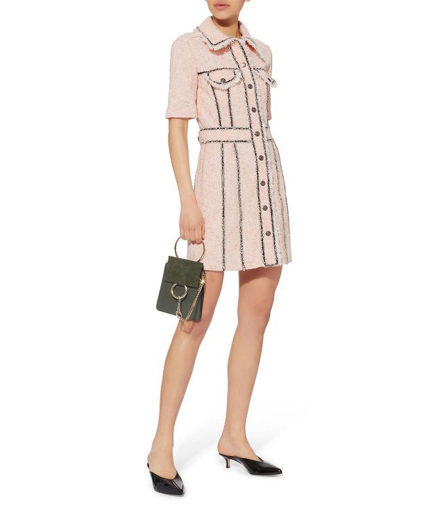 Veronica Beard Azra Tweed Mini Dress