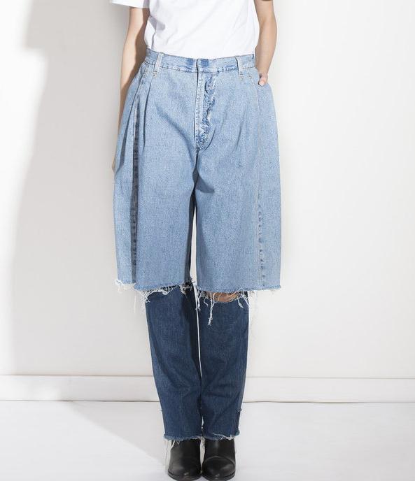 Ksenia Schnaider Demi-Denims Reworked Jeans