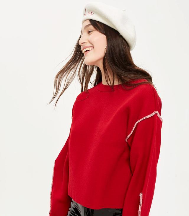 Bold Sleeve Sweater