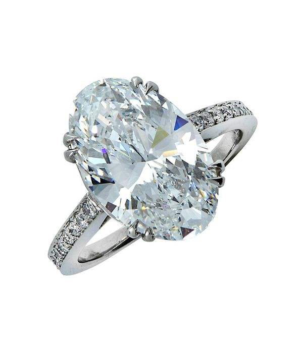 The most expensive celebrity engagement rings whowhatwear au graded 615 carat oval cut diamond engagement ring junglespirit