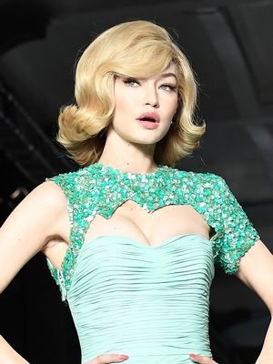 Gigi Hadid Doesn't Even Look Real on Her Latest Runway