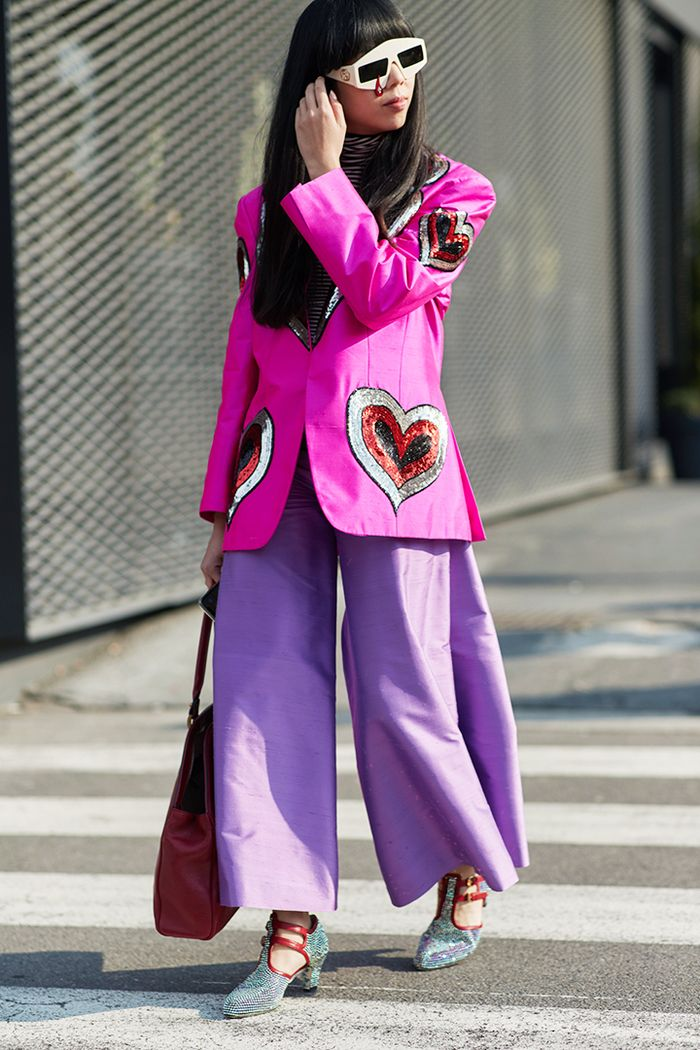 We Get It Milan You Have The Most Outrageous Street Style Looks Who What Wear Uk