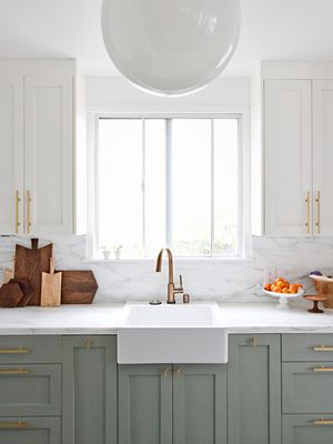 Why Two-Toned Kitchen Cabinets Are the Trend You'll Be Seeing Everywhere