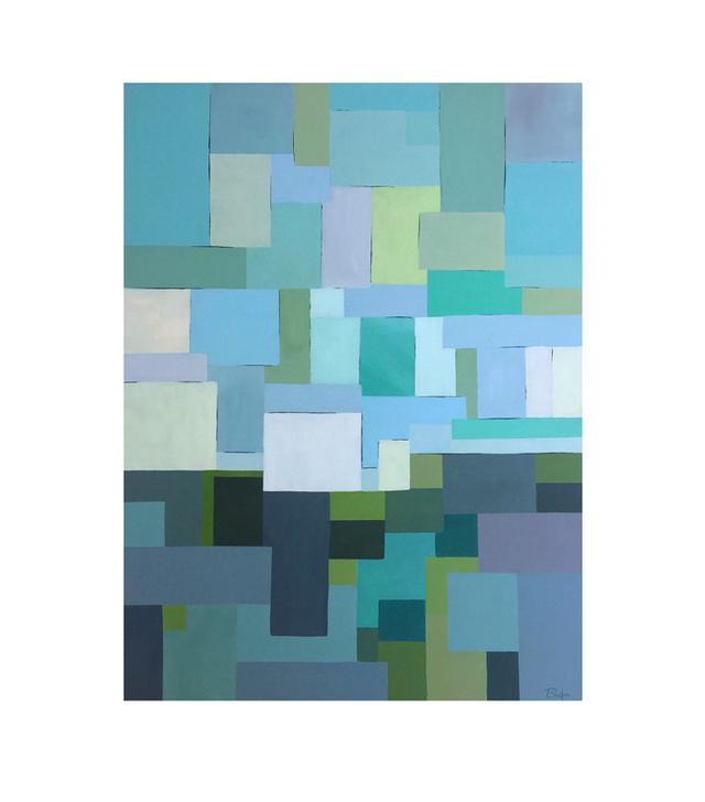 Meditative 4 by Janet Bludau