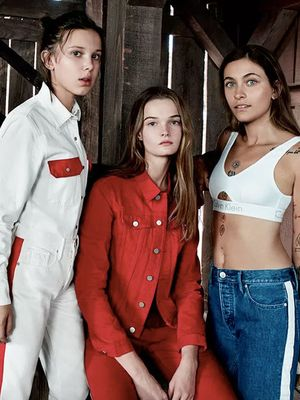 Millie Bobby Brown and Paris Jackson Know the Spring Denim Trend to Try