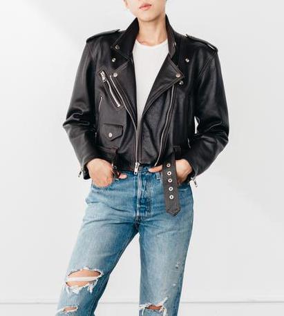 Laer x Always Judging Leather Jacket