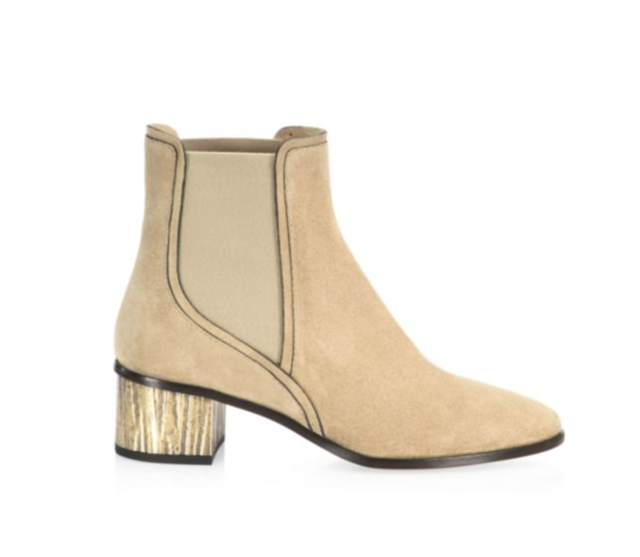 Qassie Suede Chelsea Boots