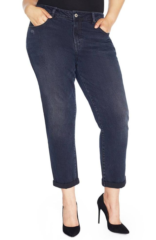 The Ryot Slim Boyfriend Jeans