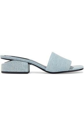 Lou Denim Mules
