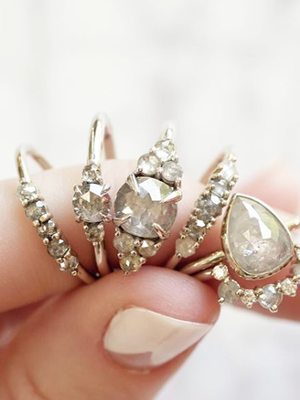 These Imperfect Diamonds Are Just as Beautiful as Traditional Engagement Rings