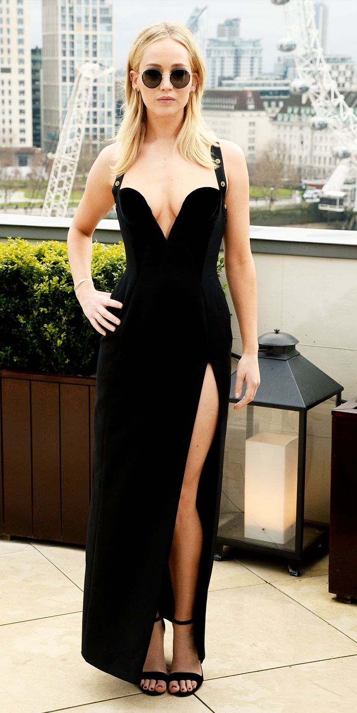 Jennifer Lawrence evening gown: