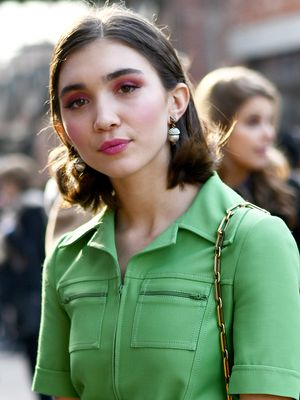 Rowan Blanchard's Head-to-Toe Gucci Look Is Sheer Perfection