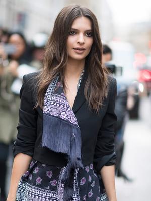 Emily Ratajkowski Got Married in a $200 Zara Pantsuit—Shop It Now