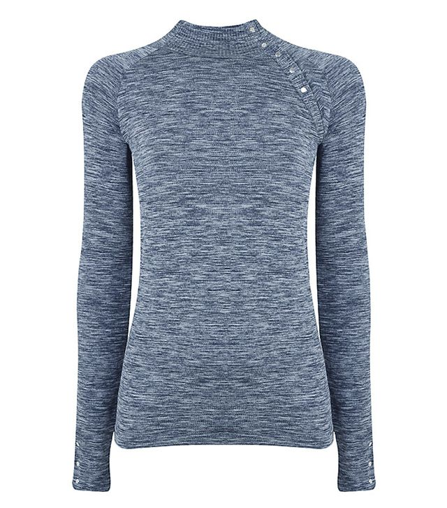 what to wear to yoga: M-Life Salutation Long Sleeve Yoga Top