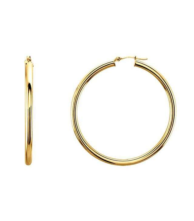Ring Concierge 3mm Gold Tube Hoops