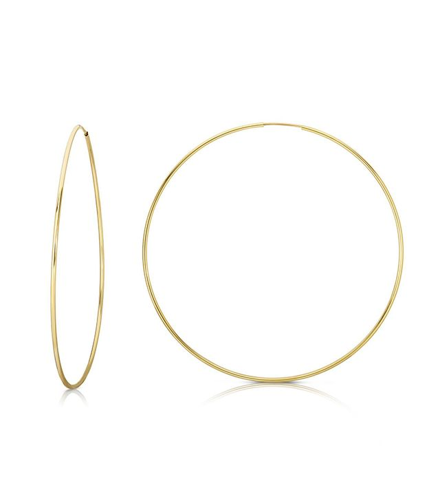 Ring Concierge 1.2mm Endless Gold Hoops