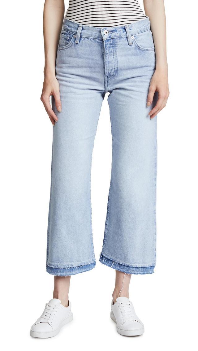 LMC x SHOPBOP Splice Flare Jeans