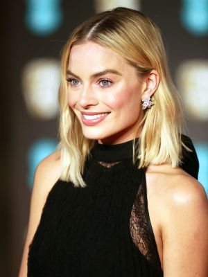 Margot Robbie Wore This Controversial Color to a Black-Tie Wedding