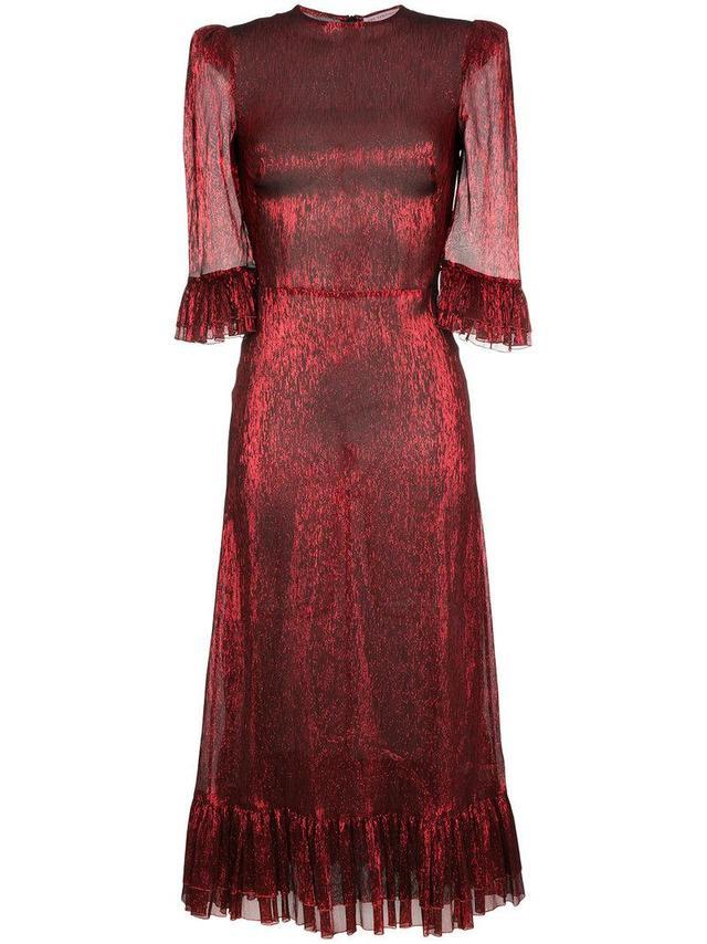 Metallic Falconetti Dress