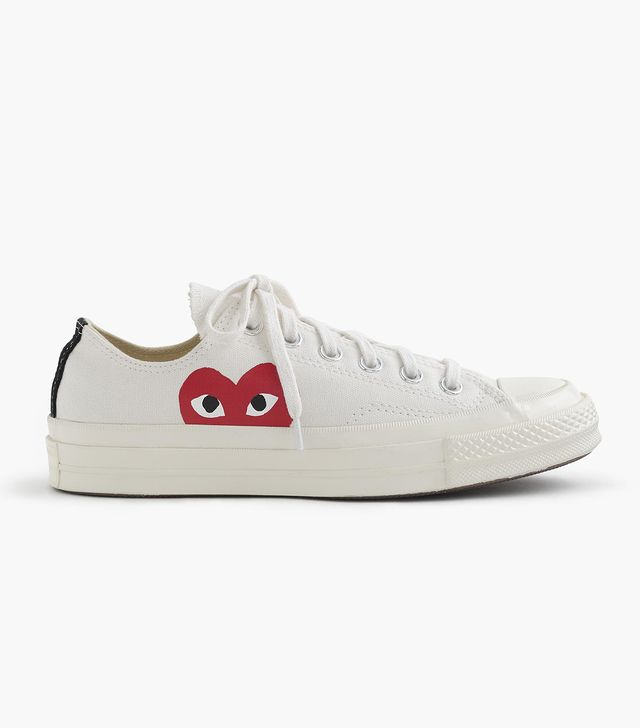Men's Comme Des Garcons Play X Converse Chuck Taylor Low Top Sneaker