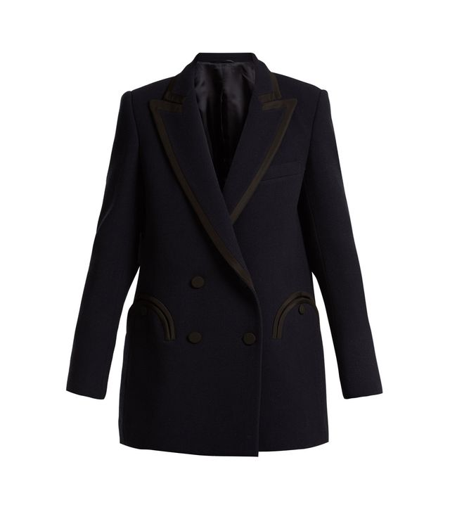 Resolute Everyday wool-crepe blazer
