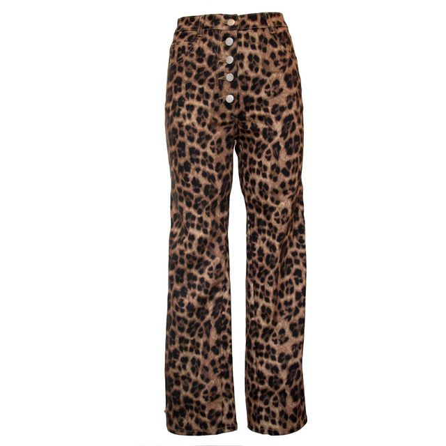 Miaou Junior Jeans in Leopard