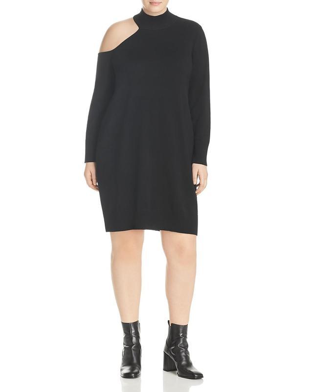 Single Cold Shoulder Sweater Dress