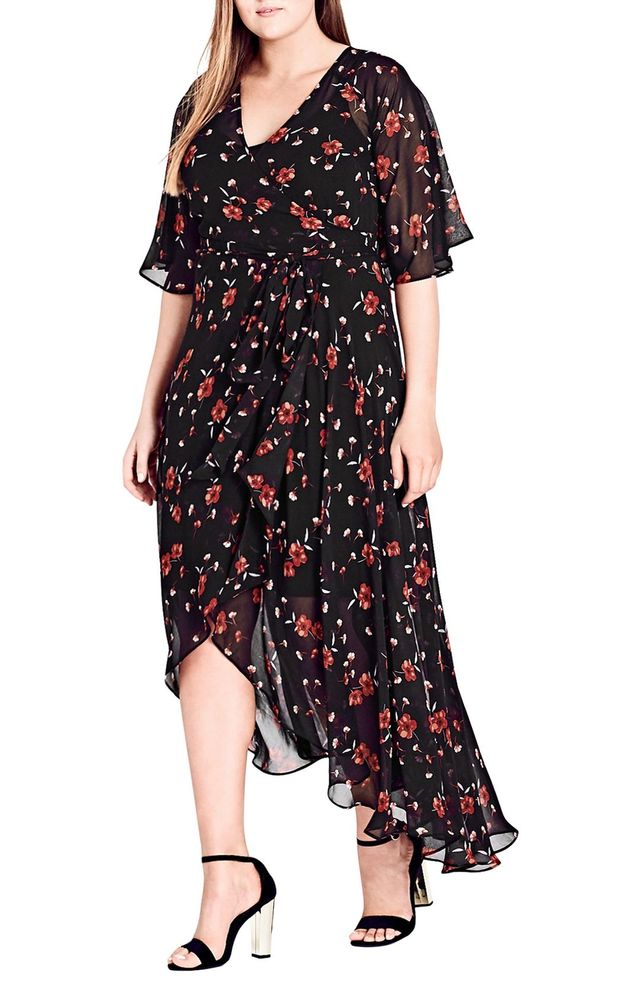 Fall In Love Floral Maxi Dress