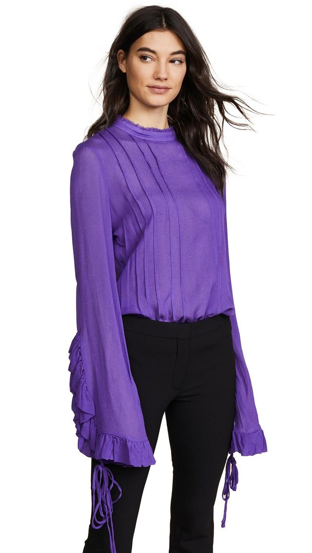 Preen Line Alexia Pleated Blouse