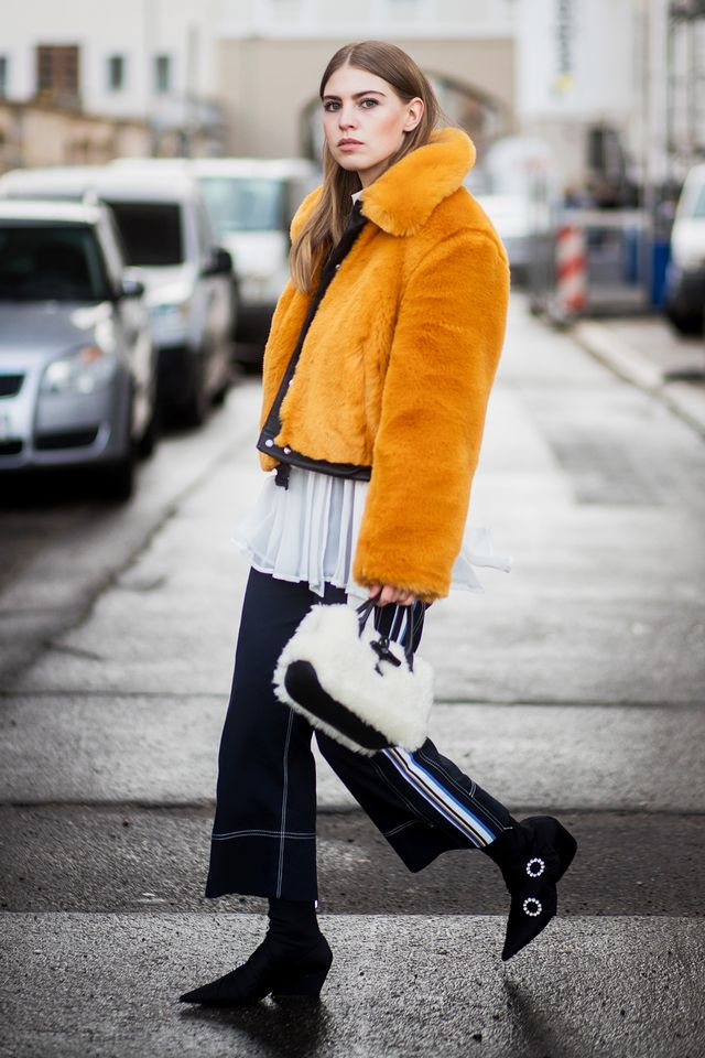 If there were any doubt in your mind thatBerlin is winning the outerwear game, this look certainly puts it to rest.