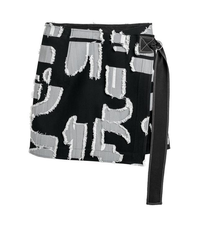H&M Jacquard-Patterned Skirt