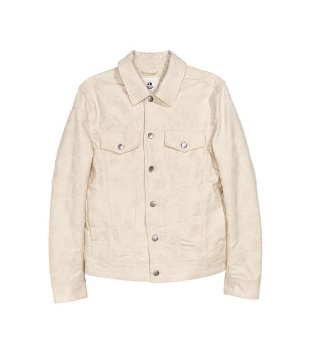 H&M Jacquard-Patterned Jacket