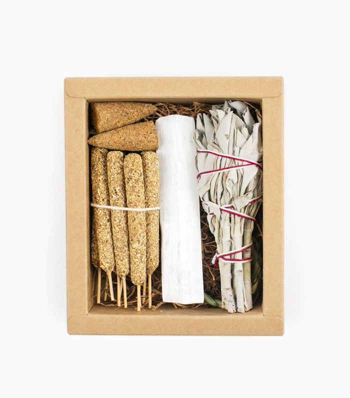 Palo Santo + Smudge Offering Kit by Rituals Incense