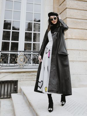 When an American Travels to Paris, This Is How She Does French Style