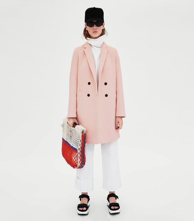 Zara Tomboy Coat
