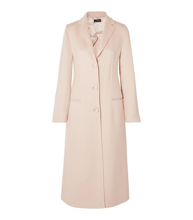 Archi Brushed Wool and Silk-Blend Coat