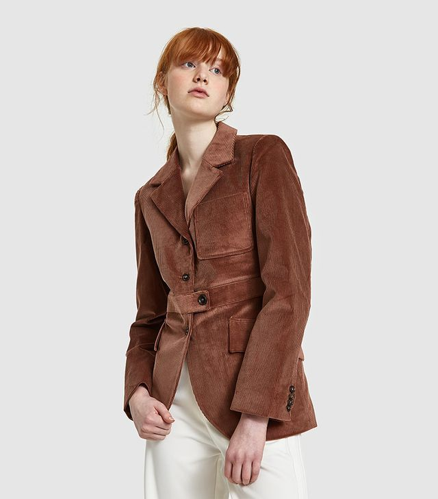Tailor Jacket in Taupe