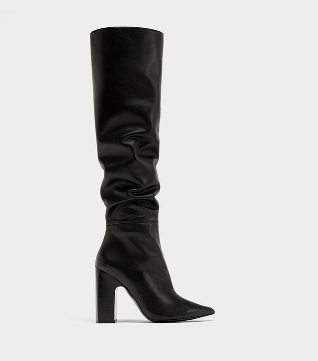 Zara Leather Boot