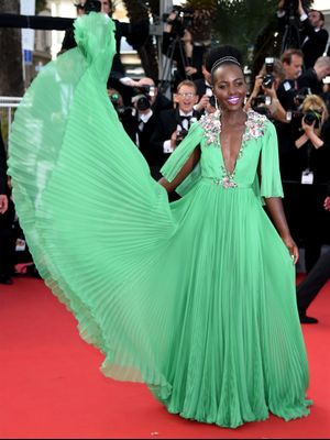 You Can't Touch Lupita Nyong'o's Red Carpet Twirls