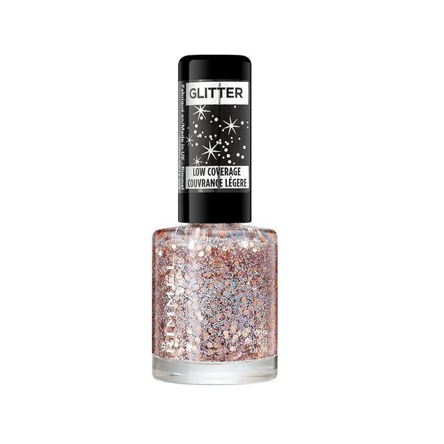 Rimmel Glitter Topcoat in Disco Diva