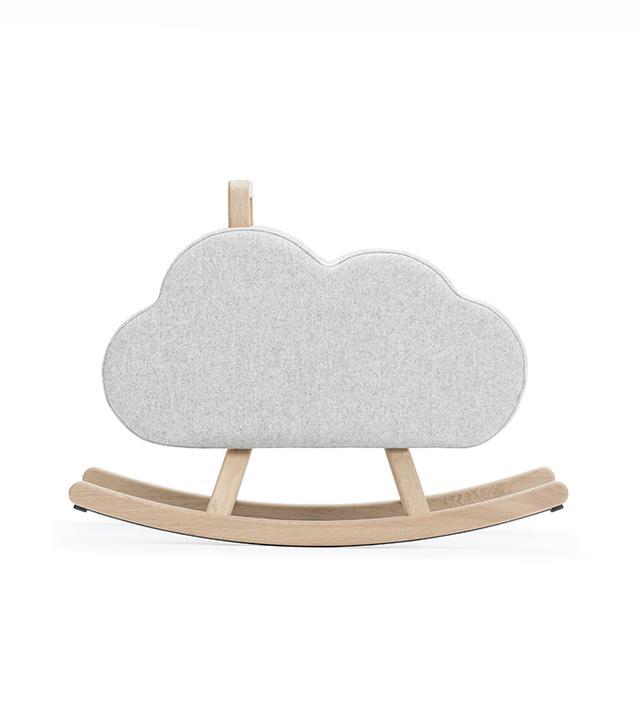 """Maison Deux French Oak Rocker """"Iconic Cloud"""""""